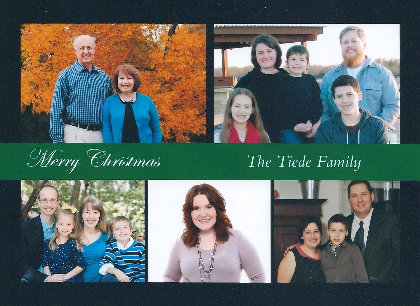 Tiede Family 2013 Christmas