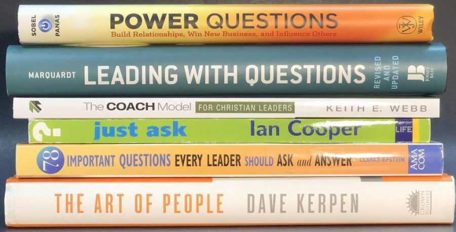 "My 6 Most Favorite ""Leading With Questions"" Books"