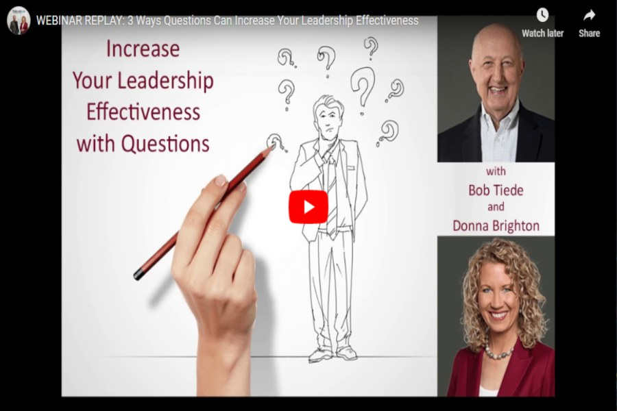 3 Ways Questions Can Increase Your Leadership Effectiveness