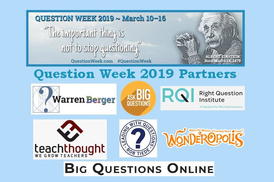 Question Week 2019: A Time for Asking