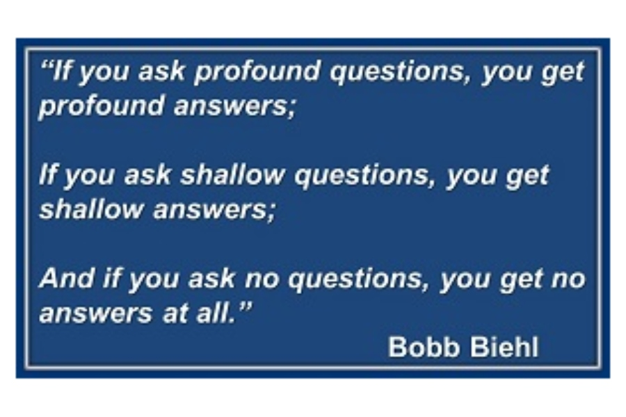 Ask Profound Questions…Get Profound Answers