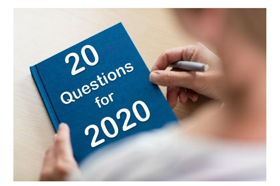20 questions for 2020
