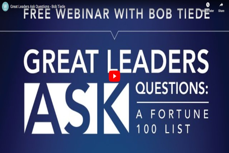 Great Leaders Ask Questions