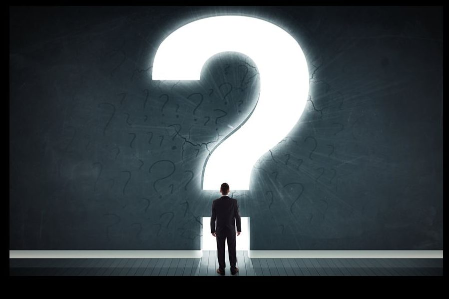 ASKING GREAT QUESTIONS IS BETTER THAN FINDING SIMPLE ANSWERS